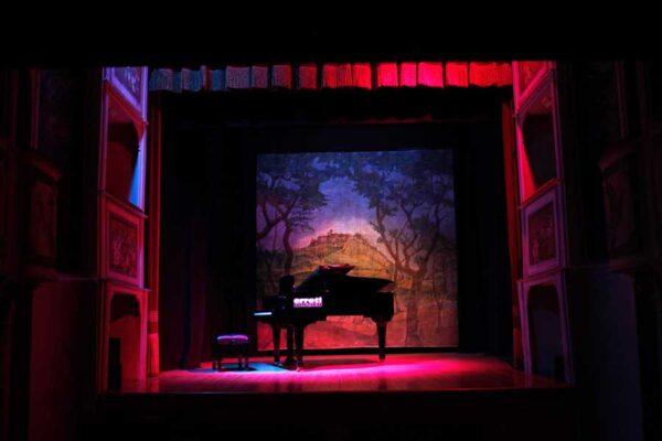 concerto esclusivo nel teatro più piccolo del mondo